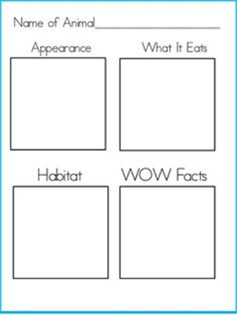 Book report template primary resources